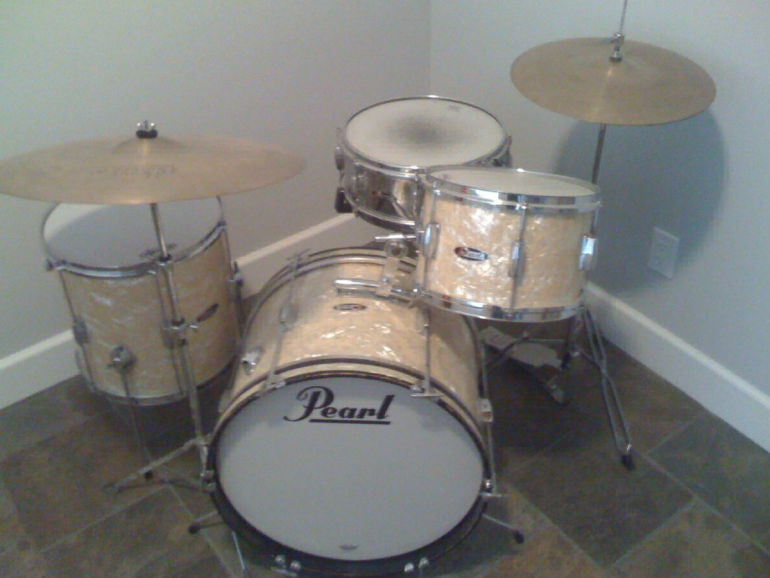 First drum kit